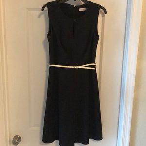 Calvin Klein black work dress
